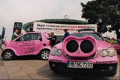 Dieselschweine in Hannover
