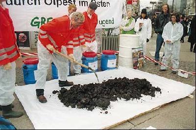 Gegen Ölverschmutzung in Sibirien