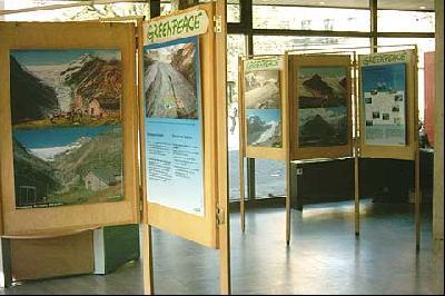 Gletscher-Ausstellung in Hannover
