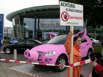 Klimaschweine in Hannover