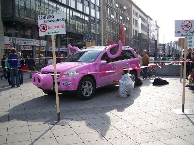 Bei Mercedes in Garbsen stinkt es nach Klimaschwein!