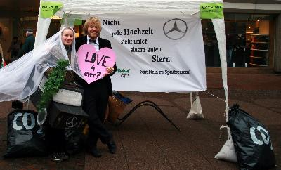 Autohochzeit in Hannover: Sag Nein zu Spritfressern!