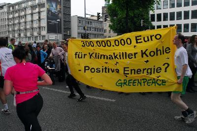 Laufen für den Klimaschutz!
