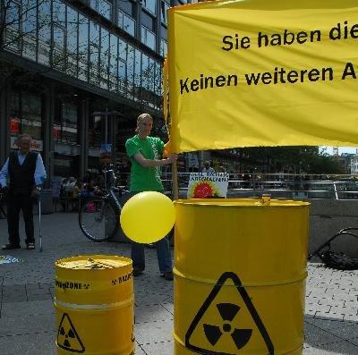 Sie haben die Wahl – keinen weiteren Atomskandal