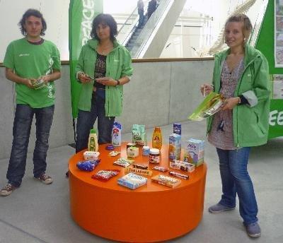 Greenpeace-Infotage im OZEANEUM
