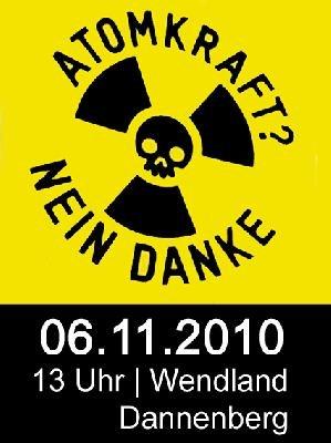 Sei dabei:  Am 06.11. auf nach Gorleben zum Castorprotest!
