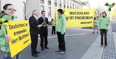 Deutschland ist erneuerbar, Mc Allister!