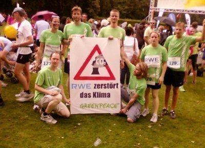 Laufender Protest: Von wegen voRWEg gehen!