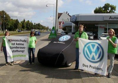 Protest gegen den dreckigsten Golf
