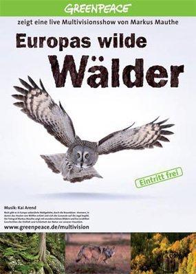 "Greenpeace präsentiert ""Europas wilde Wälder"" am 18.Januar 2012 in Hannover"