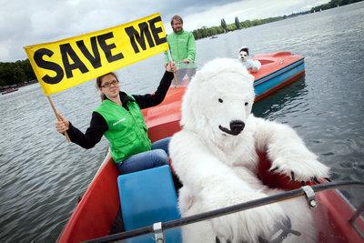 Schützt die Arktis – Stoppt Shell!