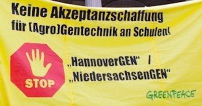 HannoverGEN beenden, NiedersachsenGEN stoppen!