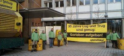 Greenpeace fordert: Künftige rot-grüne Landesregierung muss Lösungen für Gorleben, Agrarpolitik und Waldschutz finden!
