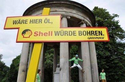 """Mitmachaktion: """"Wäre hier Öl, Shell würde bohren"""""""