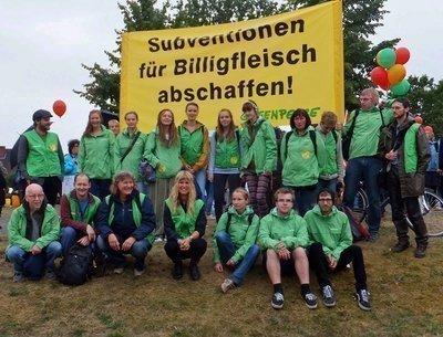 Auf nach Wietze: Wir haben Subventionen für Billigfleisch satt!