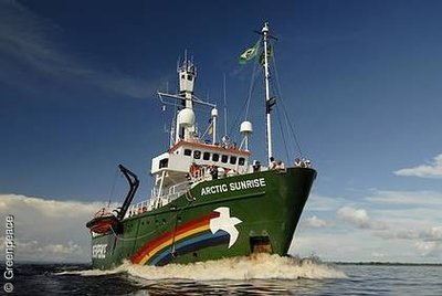 Freiheit für die Greenpeace-Aktivisten der Arctic Sunrise!