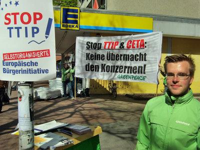 Stop TTIP & CETA - Keine Übermacht den Konzernen!