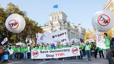 """TTIP & CETA - """"Wir sind nicht einverstanden!"""""""