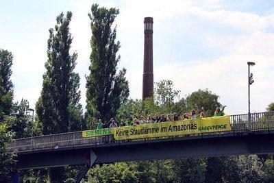 Siemens: Keine Staudämme im Amazonas!
