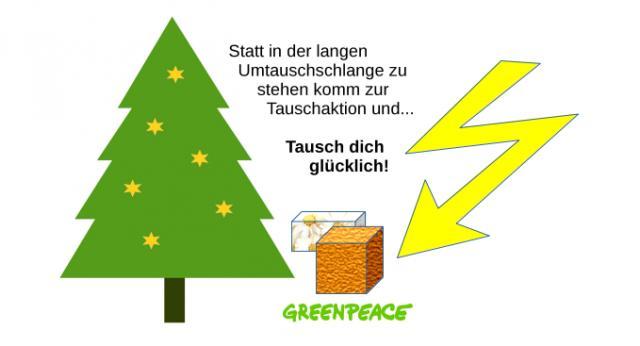 Blitztausch für Weihnachtsgeschenke!