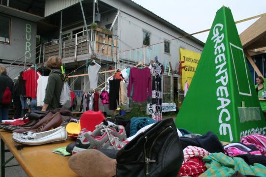 Greenpeace Hannover auf der Fairen Woche