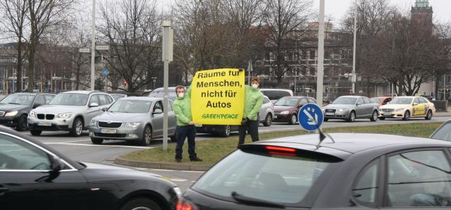Greenpeace Hannover fordert effizientere Verkehrskonzepte
