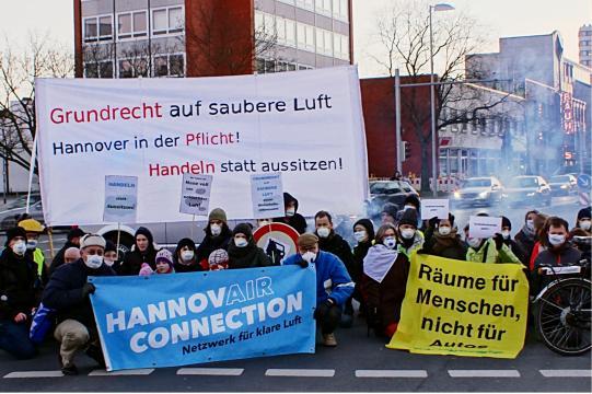 HannovAIR Connection fordert Umsetzung der Verkehrswende