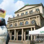 Pinguin Katharina auf Tour