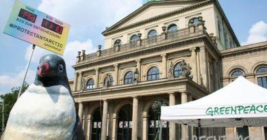 Greenpeace Hannover in antarktischer Mission