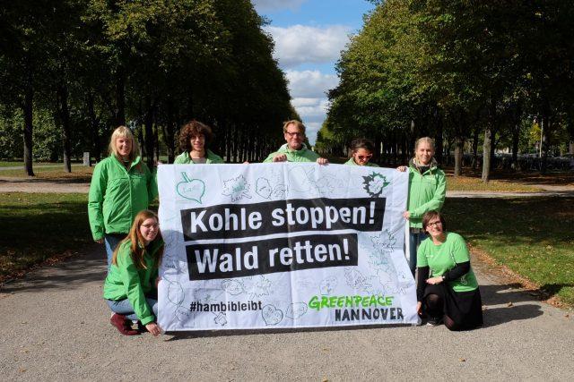 Kohle stoppen - Wald retten!