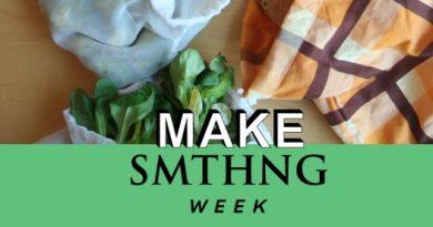 Make SMTHNG 2018: Gemüsebeutel