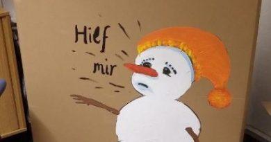 Schneemann adé – Abschied nehmen tut weh!