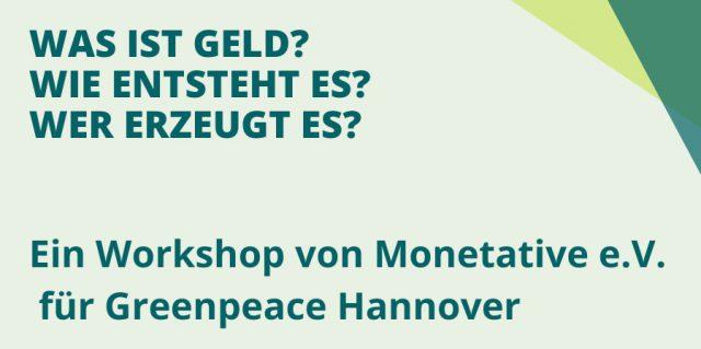 Workshop Geld und Umwelt