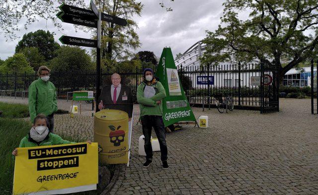 Greenpeace Hannover informiert über EU-Mercosur